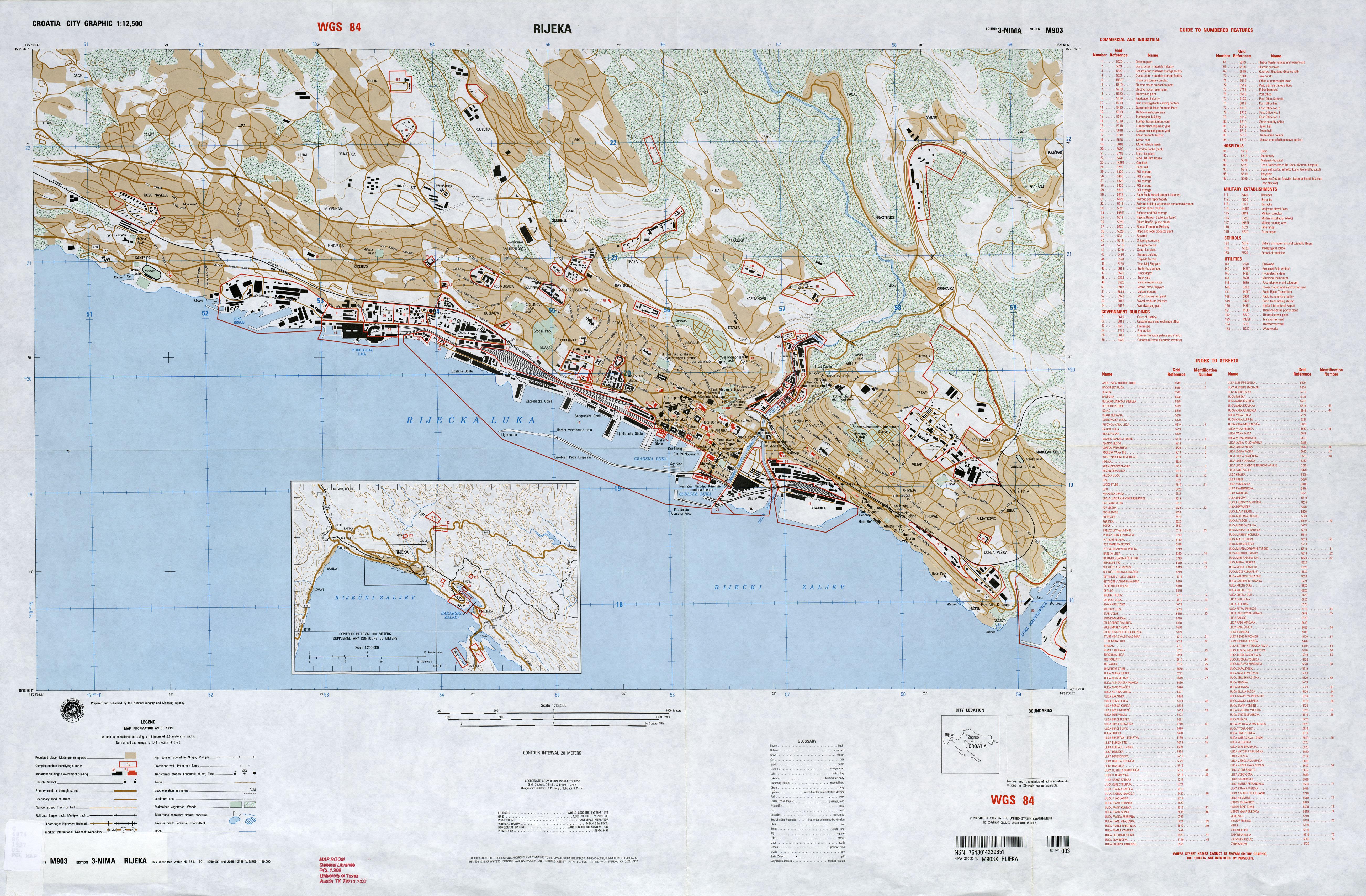 rijeka tourist map - photo #11