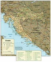 Croatian Counties 2000