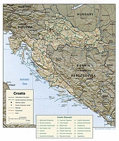Croatian Counties 2001